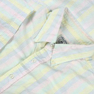VTG Brooks Brothers Seersucker S/S Sport Shirt